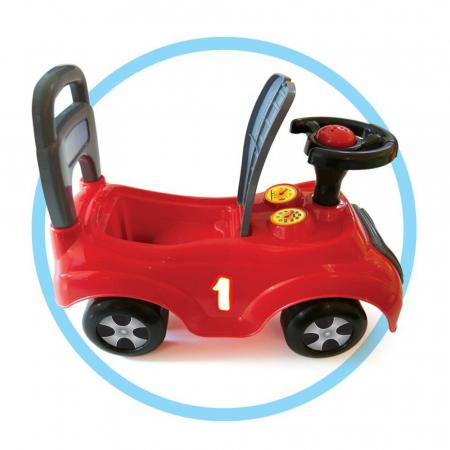 Masina fara pedale rosie2