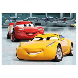 Puzzle 2 in 1 - Cars 3: Cursa cea mare (77 piese)1
