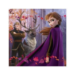 Puzzle 3 in 1 - Frozen II (3 x 55)2