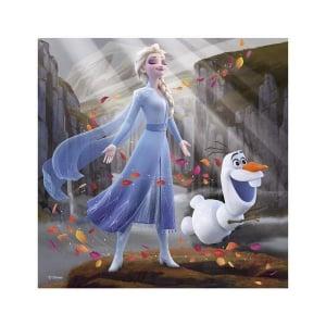 Puzzle 3 in 1 - Frozen II (3 x 55)1