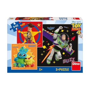 Puzzle 3 in 1 - TOY STORY 4 (55 piese)1