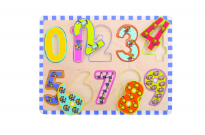 Puzzle - cifre 0-91
