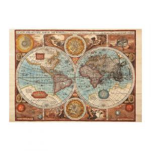 Puzzle - Harta lumii din 1626 (500 piese)0