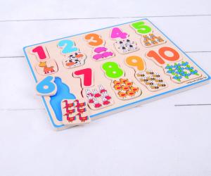 Puzzle - numere si culori1