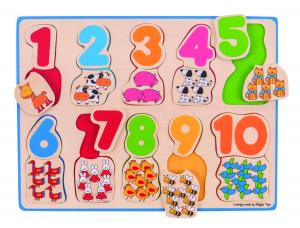 Puzzle - numere si culori2