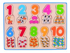 Puzzle - numere si culori0