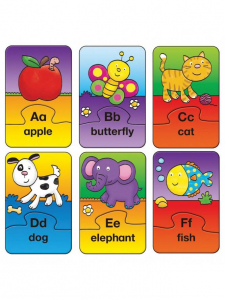 Set 26 de puzzle-uri Alphabet (2 piese)0