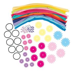 Set creatie - Bentite cu floricele0