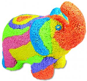 Set creativ - Animalute curcubeu1