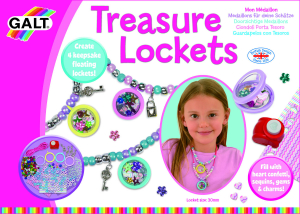 Set creativ - Treasure Lockets3