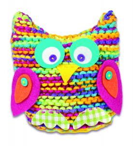 Set de tricotat - Bufnita3