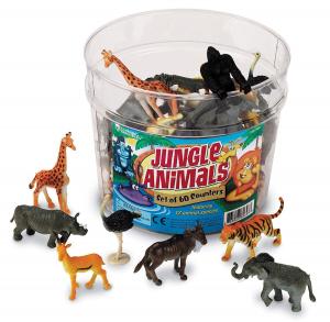 Set pentru sortat - Animalute din jungla0