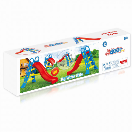 Tobogan mare pentru copii - viu colorat [0]
