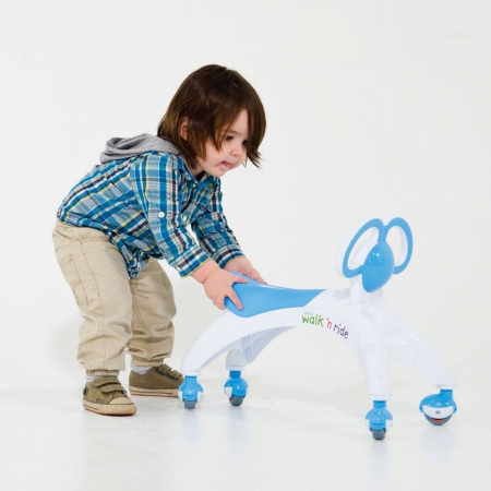 Vehicul fara pedale - Walk 'n' Ride (albastru)1