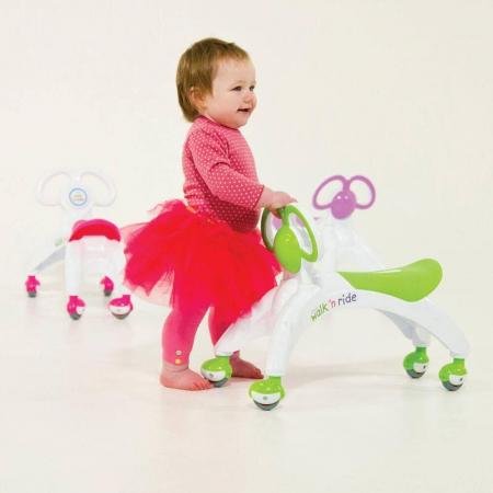Vehicul fara pedale - Walk 'n' Ride (verde) [1]