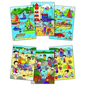 Water Magic:Carte de colorat La mare1