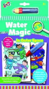 Water magic: Carte de colorat Spatiu0