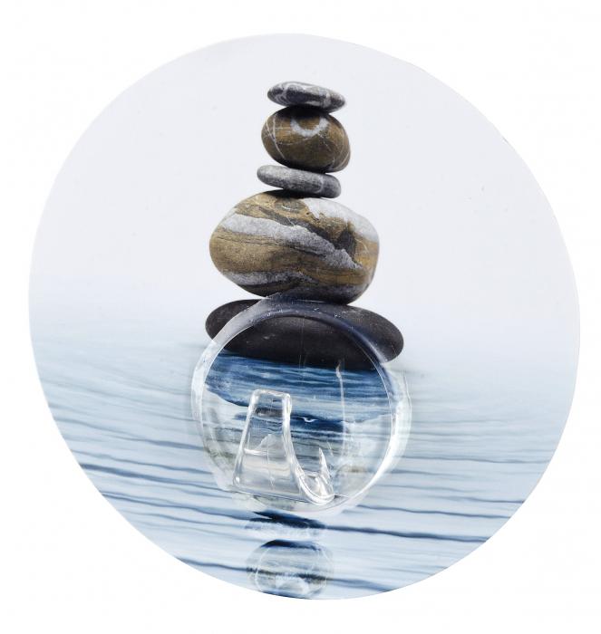 Agatatoare cuier autoadeziva meditation, Uno Hook 3