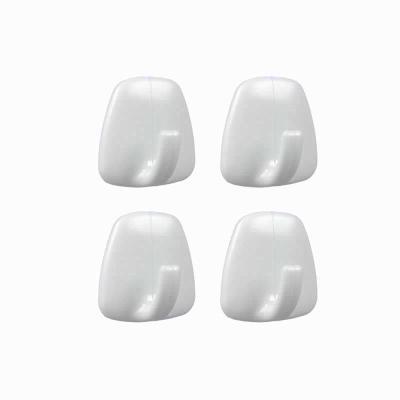 Agatatori cuier autoadezive din plastic, set 4 bucati 2
