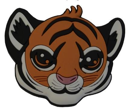 Buton copii tigru [0]