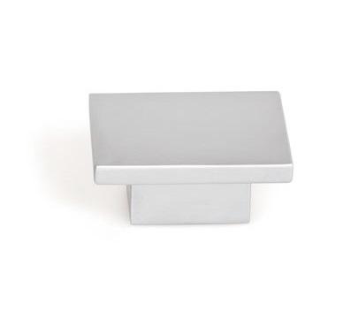 Buton pentru mobila Square, finisaj crom mat [0]