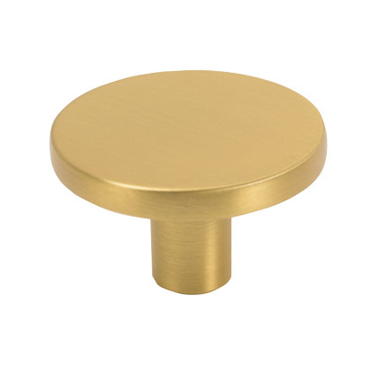 Buton pentru mobilier Como Big, auriu periat, D 41 mm [0]