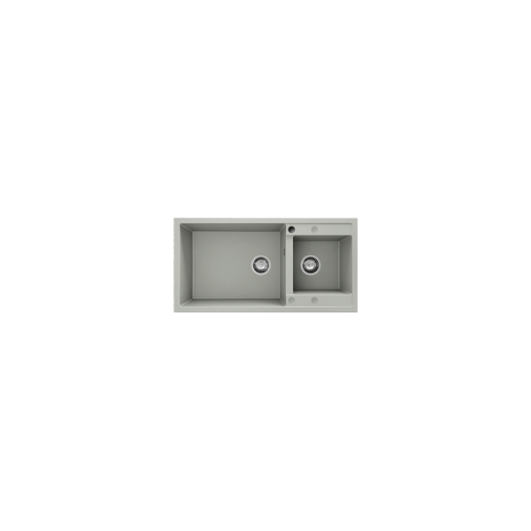 Chiuveta cu doua cuve bej 95 cm/49 cm (235) 1