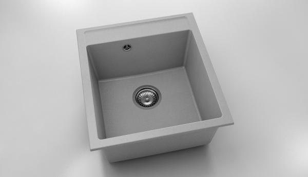 Chiuveta cu o cuva gri 46 cm/51 cm (224) 0