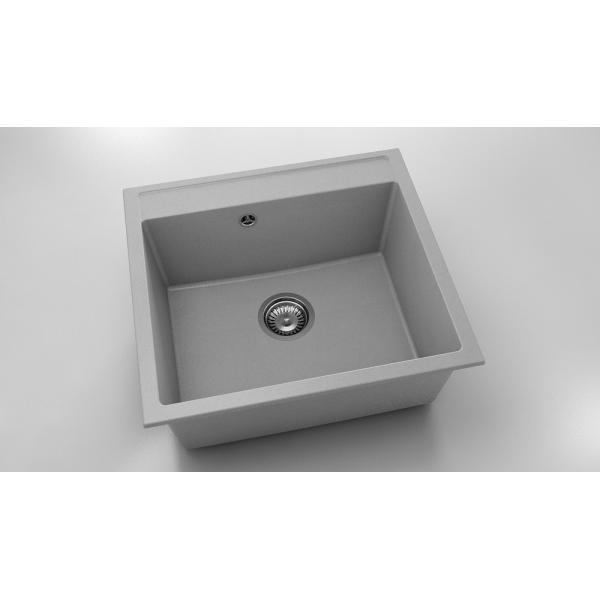 Chiuveta cu o cuva gri 56 cm/51 cm (226) [0]