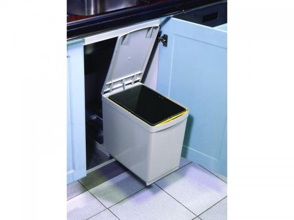 Cos de gunoi CR Davis cu un recipient 16 L pentru corp de 300 mm latime [1]
