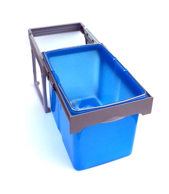 Cos de gunoi incorporabil Ekko Easy cu 1 compartiment x 34 litri [0]