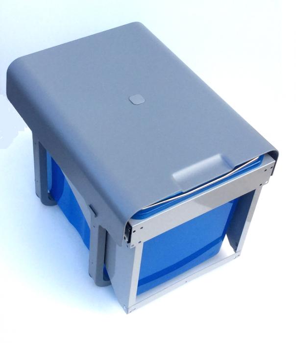 Cos de gunoi incorporabil Ekko Front cu 1 compartiment x 34 litri 1