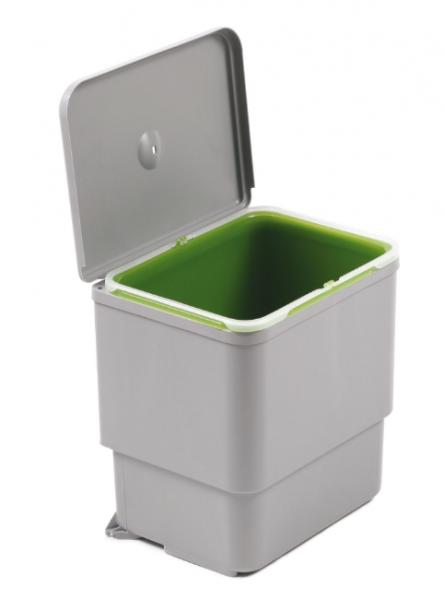 Cos de gunoi Sesamo incorporabil in dulap, cu 1 compartiment x 16 L, pentru corp de 450 mm latime 0