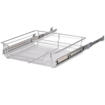 Cos metalic extractibil pentru corp de mobilier de 600 mm latime [4]