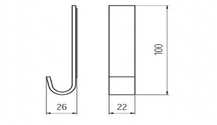 Agatatoare cuier plastic 1