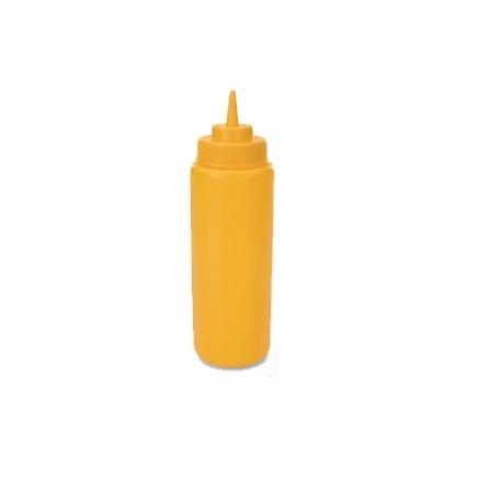 Dozator mustar, galben 260 ml 0