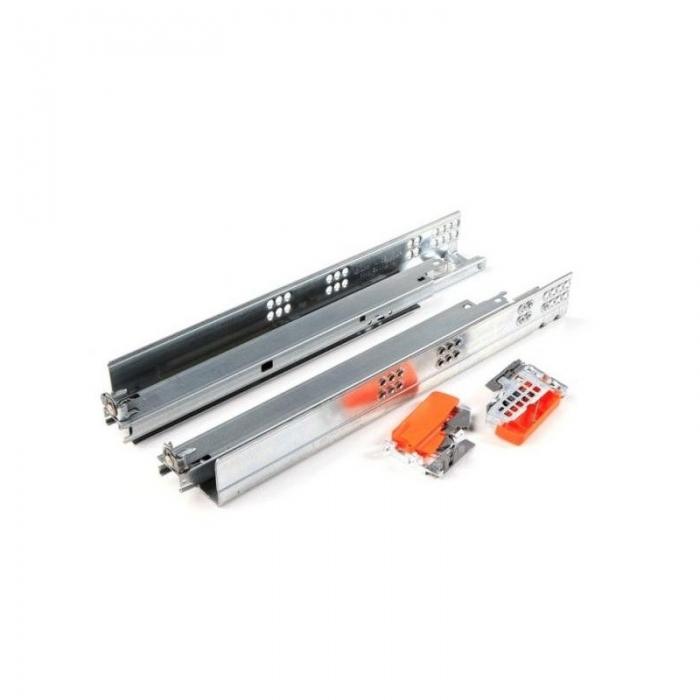 Glisiere TANDEM BLUM 400 mm cu amortizare si extragere totala [0]