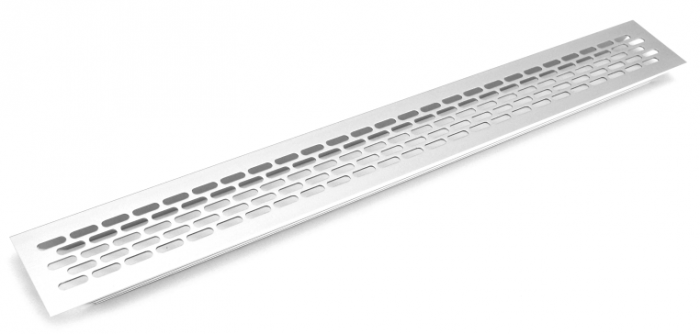 Gratar aerisire aluminiu 60x 484 mm [0]