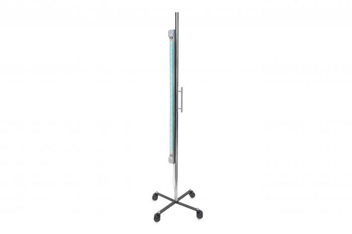 Lampa bactericida UV-C 1x36 watt si stativ mobil, pentru dezinfectie camere hotel si pensiuni 1
