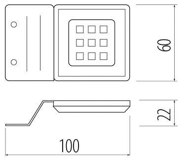 LED Calderon simplu 1