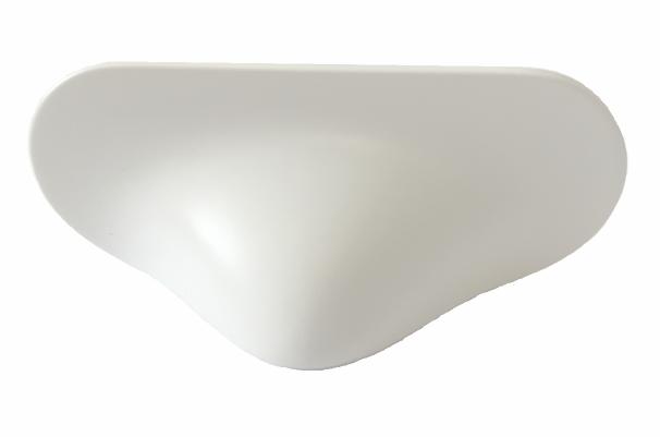 Maner Cala, L:80 mm, finisaj alb mat 0