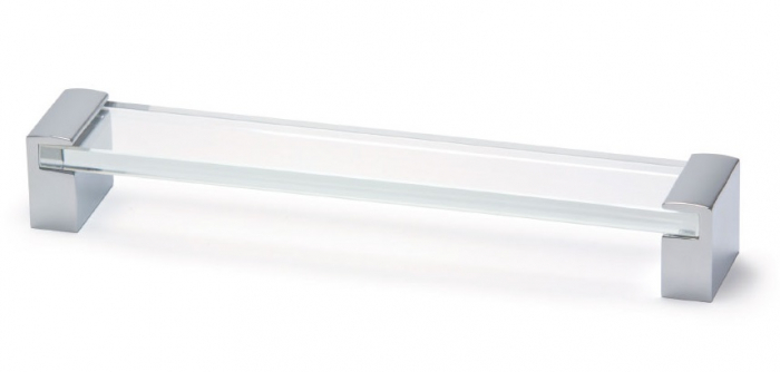 Maner pentru mobila Glass, finisaj transparent, L:335 mm [0]