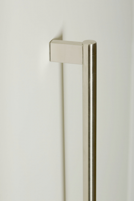 Maner pentru mobila Kombi Long, finisaj otel inoxidabil periat, L:814 mm [5]