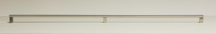 Maner pentru mobila Kombi Long, finisaj otel inoxidabil periat, L:814 mm [4]