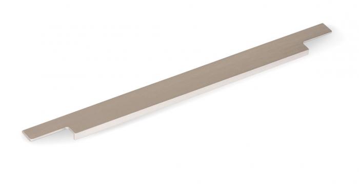 Maner pentru mobila Linear, finisaj otel inoxidabil, L:997 mm [0]