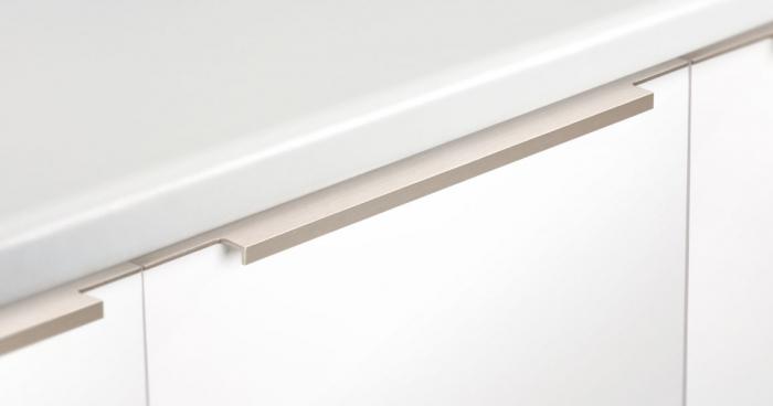 Maner pentru mobila Linear, finisaj otel inoxidabil, L:997 mm [2]