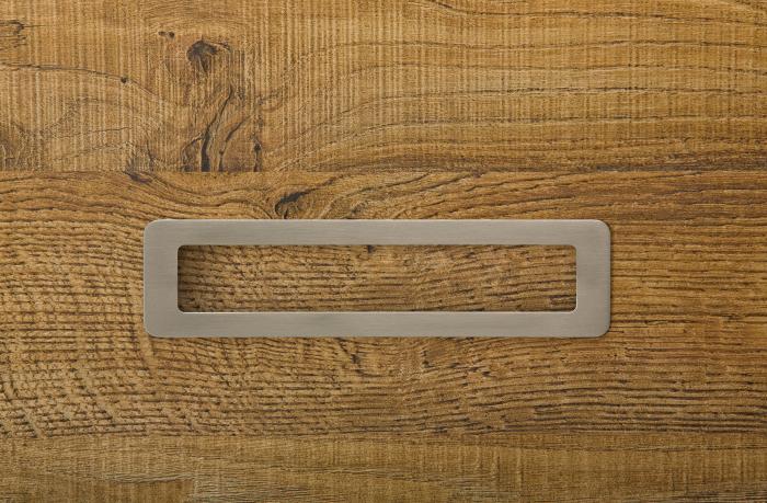 Maner pentru mobila Low, finisaj nichel periat, L:206 mm [2]