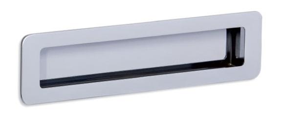 Maner pentru mobila Low ST, finisaj crom lucios, L:206 mm [0]