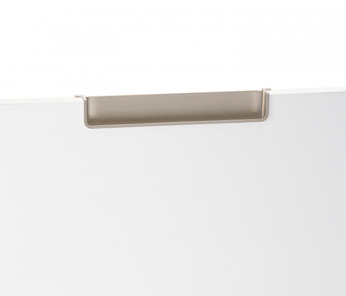 Maner pentru mobila Nest, finisaj nichel periat, L:212.5 mm [7]