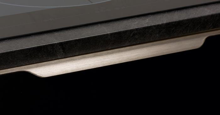 Maner pentru mobila Vector, finisaj otel inoxidabil, L:1197 mm [5]